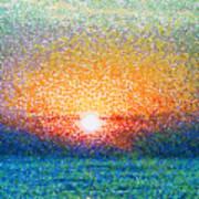 Dawn On A Caspian Sea Poster