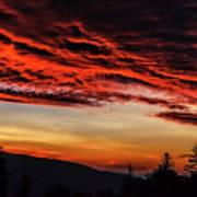 Dawn Over Big Spruce Knob Poster
