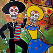 Day Of The Dead Bailar Poster