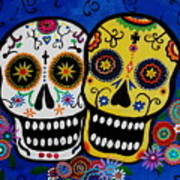 Day Of The Dead Sugar Poster