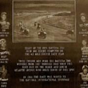 Daytona 200 Plaque Poster