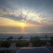 Daytona Beach Sunrise Poster