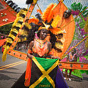 Dc Caribbean Carnival No 13 Poster by Irene Abdou