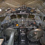 De Havilland Dh106 Comet 4 G Apdb Cockpit Full Size Poster Poster