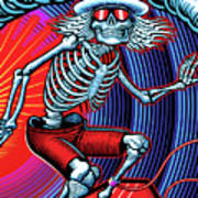 Deadhead Surfer Poster