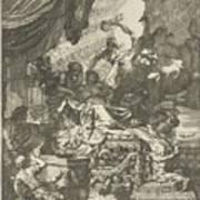 Death Of Dido, Gerard De Lairesse, 1668 Poster