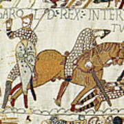 Death Of Harold, Bayeux Tapestry Poster