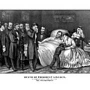 Death Of President Lincoln Poster