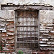 Decaying Wall And Window Antigua Guatemala 3 Poster