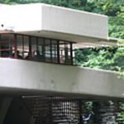 Deck View Fallingwater  Poster