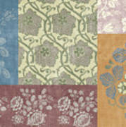 Deco Flower Patchwork 2 Poster by JQ Licensing