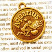 Decorative Aquarius Poster
