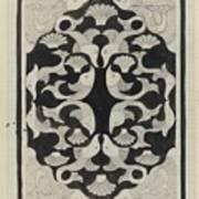 Decorative Design With Fish, Carel Adolph Lion Cachet, 1942 Poster