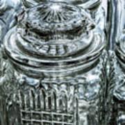 Decorative Glass Jars Poster