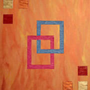 Decorative Squares Poster