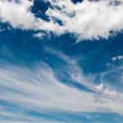 Deep Blue Sky Poster