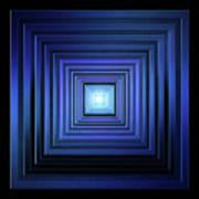 Deep Blue Solstice Poster