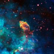 Deep Space Smoke Poster