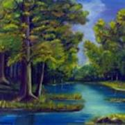 Deep Woods Poster