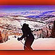 Deer Valley Utah Powder Poster