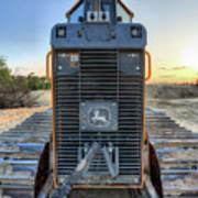 Deere Heavy Equipment  Poster