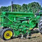 Deere Old Tractor Poster