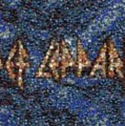 Def Leppard Albums Mosaic Poster