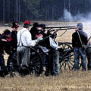 Defending The Artillery Poster