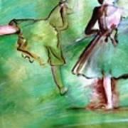 Degas' Dancers Poster