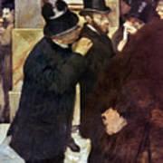 Degas: Stock Exchange Poster