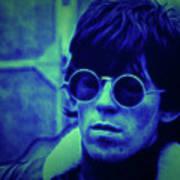 Deja Blue Rolling Stones Bill Wyman Poster