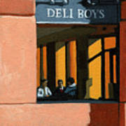 Deli Boys - Cafe Poster