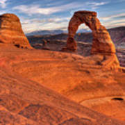 Delicate Arch 10 Poster