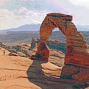 Delicate Arch 3 Poster