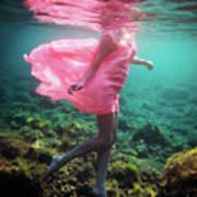 Delicate Mermaid Poster