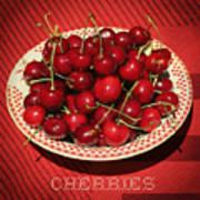 Delicious Cherries Poster