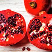 Delicious Pomegranate Poster