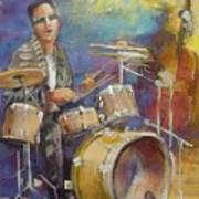 Demon Drummer Poster