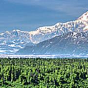 Denali Panorama Poster