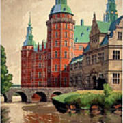Denmark, Castle, Romance Of The Middle Ages Poster Poster