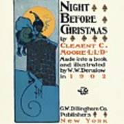 Denslows Night Before Christmas By Clement Moore Lld 1902 Poster