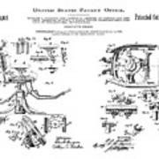 Dentists Chair Patent 1892 Poster
