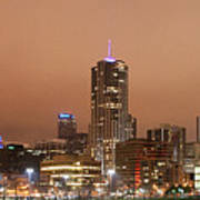 Denver From Auraria Campus Poster