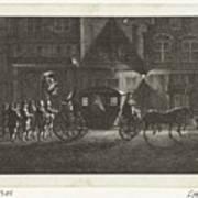 Departure Of Alva From Amsterdam, 1573, Barent De Bakker Attributed To, After Hermanus Petrus Scho Poster