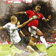 Depay In Action Poster