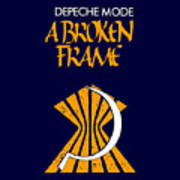 A Broken Frame Logo With Name Poster