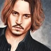 Depp Poster by Bruce Lennon