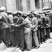 Depression: Harlem, 1931 Poster