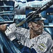 Derek Jeter Poster by David Courson