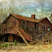 Derelict House Side Poster